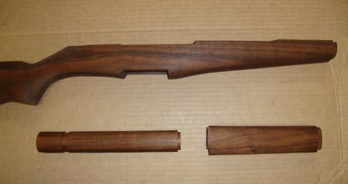 """M1 Garand Matched Stock Set American Walnut """"Slim"""" Pattern SE03"""
