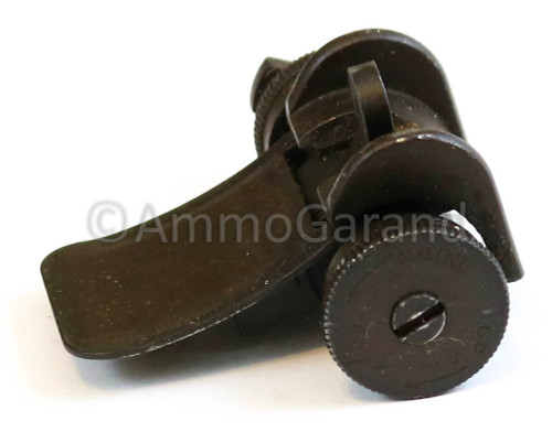 M1 Garand Type II Lock Bar Rear Sight Assembly Complete WWII Early Original Springfield SA