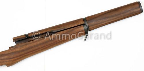 "M1 Garand Matched Stock Set w/Metal - Walnut ""Slim"" Pattern with all New Metal Installed A2"