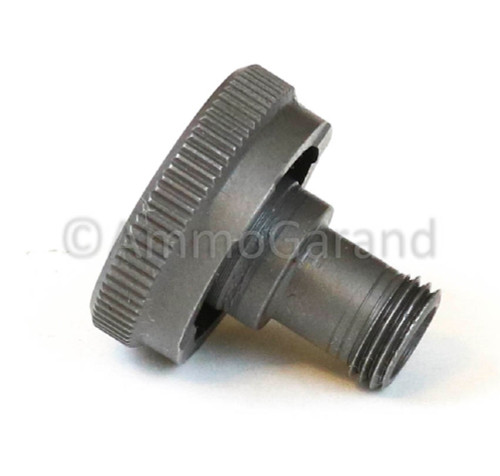 M1 Garand Rear sight Windage Knob T105<br> - Also for M1A M14<br>Late 1945 on use<br>- NEW - Grey