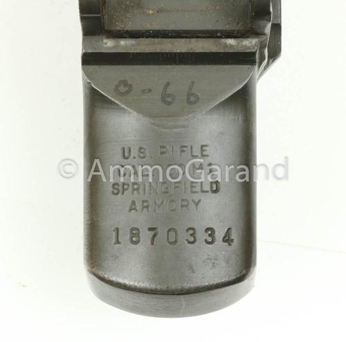 M1 Garand Receiver Springfield WWII SA Aug 1943 USMC Crane 0-66 Marked