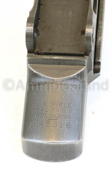 ** SOLD ** M1 Garand Receiver Winchester WRA WWII Feb 1942 6-Digit