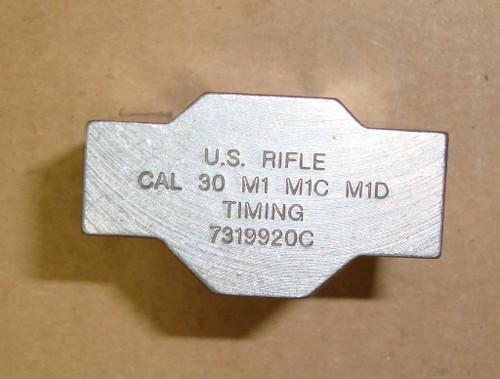 M1 Garand Clip Timing Block - Steel