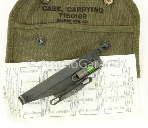 M1 Garand Rifle Grenade Sight w/Case M15 1944