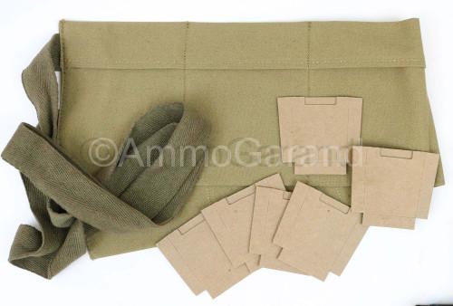 M1 Garand Bandoleer  & Card Board Insert Set
