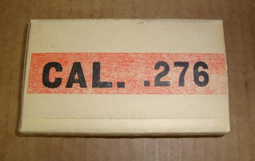 .276 Pedersen Early Garand Test Rounds 1929 20rd Box