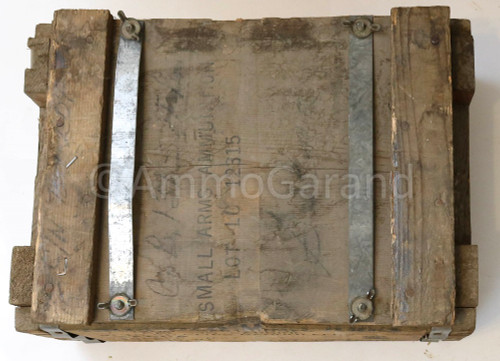 30 Carbine M27 Tracer Ammo 1200rd 1950's Ammo Crate - EMPTY