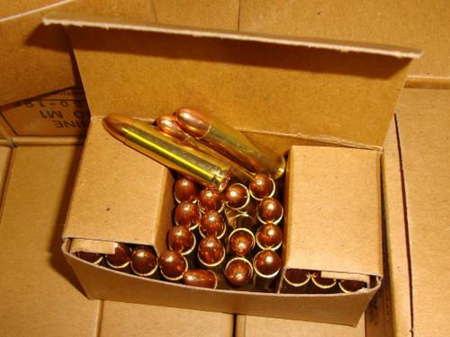 .30 M1 Carbine Ammo Lake City 50rd Boxs USGI Surplus <br>NON-Corrosive / Boxer Primed Reloadable