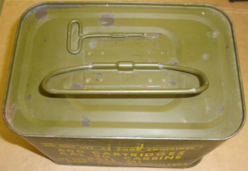 30 M1 Carbine Ammo 600rd Spam Can Lake City .30 1950's USGI Surplus