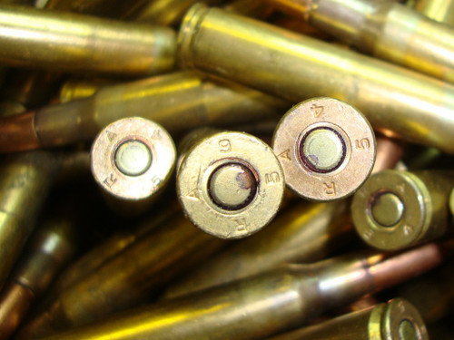 30-06 M2 150gr FMJ Ball Remington USGI 1950s <br>100rd Lots<br>NON-Corrosive / Boxer Primed Reloadable