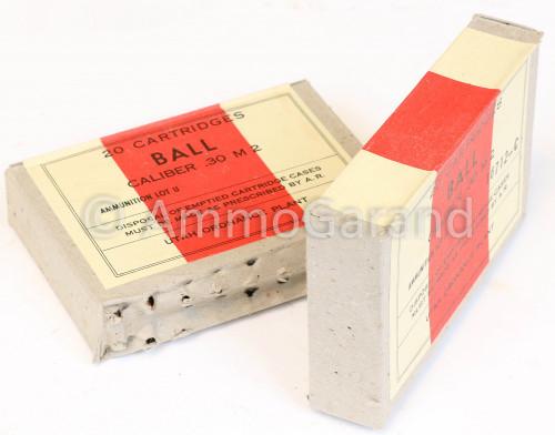 30-06 M2 20rd Box Utah Ordnance WWII 1943