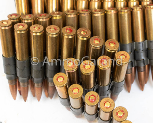 30-06 M2 Ball M1 Tracer Mix WWII 100rds Linked Denver 1943