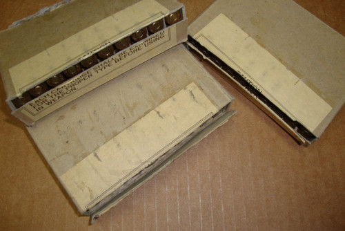 30-06 ANM2 150gr Ball Winchester WRA 1952  <br>USGI 20rd Boxes<br>NON-Corrosive / Boxer Primed Reloadable (Minor Box Damage)