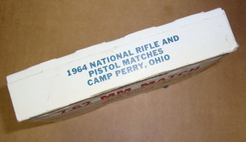 7.62 .308 Match XM118 <br>Lake City 1964 <br>Lot 12015 20rd Box