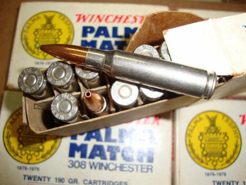 .308 Winchester Palma National Match 100th Anniversary 1976