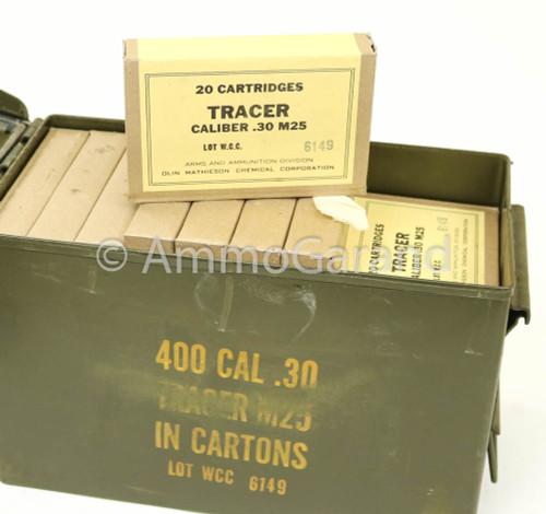 30-06 M25 Tracer WCC 1950's Orange Tip 20rd Box