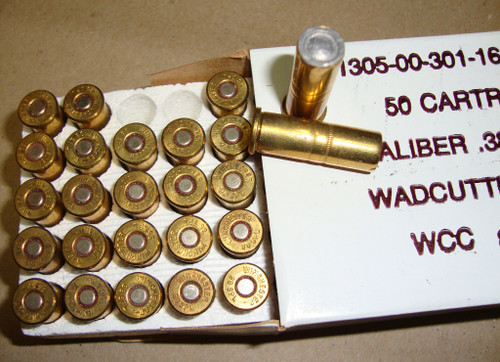 .38 Special USGI 148 gr W/C Match Ammo 50rd Boxs Winchester WCC