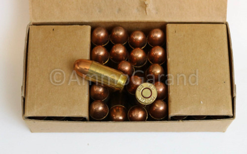 .45 ACP Match Ball M1911 Remington Arms USGI Surplus <br>Lot RA 5013 1960<br>50rd Box