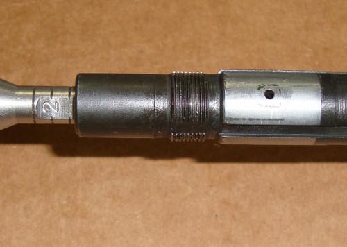 M1 Garand Barrel Springfield April 1965 <br>ME 0.8  TE 1.9