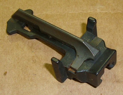 M1 Garand IHC Follower and Slide Assembly H Letter Coded International Harvester Late Production use