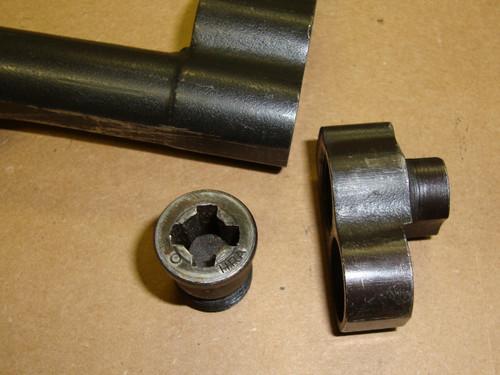"M1 Garand Gas Cylinder Assembly HRA W/ ""High Hump"" Lock & HRA O Coded Gas Screw"