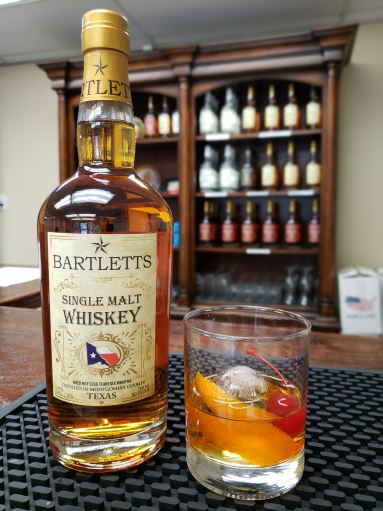 Bartletts Single Malt Whiskey Old Fashioned