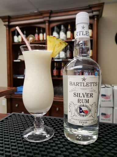 Bartletts Pina Colada with Silver Rum