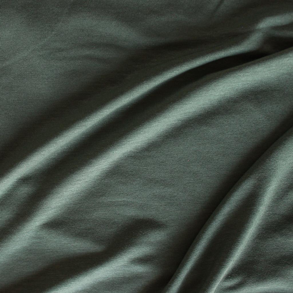 fe31256181b Tencel Jersey Knit - Olive   Blackbird Fabrics