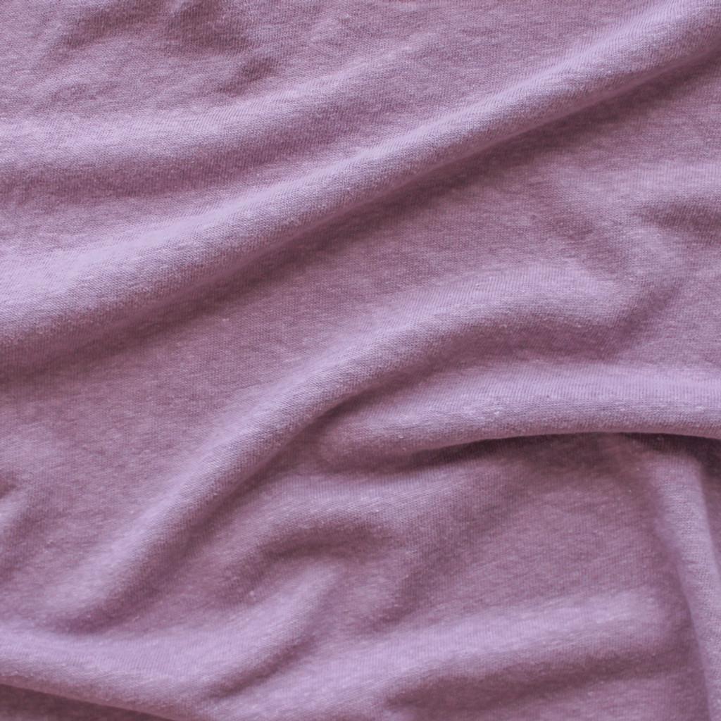 10d603136b8 Hemp & Organic Cotton Jersey - Dusty Lilac | Blackbird Fabrics