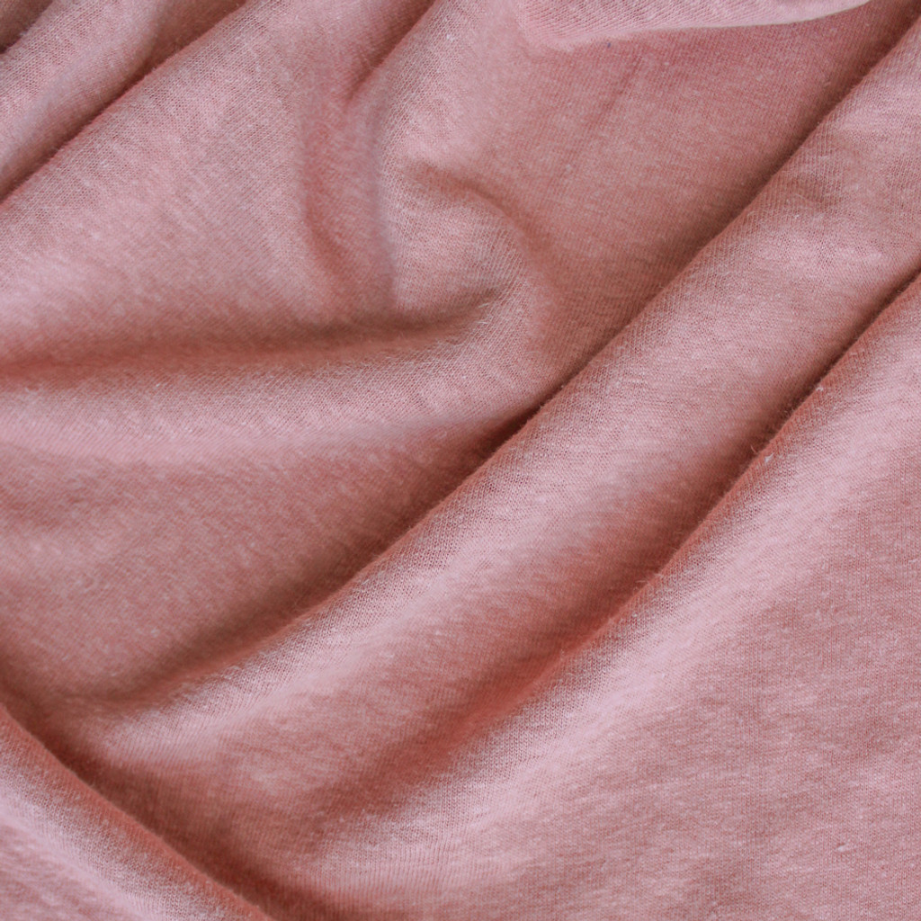434f6a7b4c7 Hemp & Organic Cotton Jersey - Pale Terra Cotta | Blackbird Fabrics