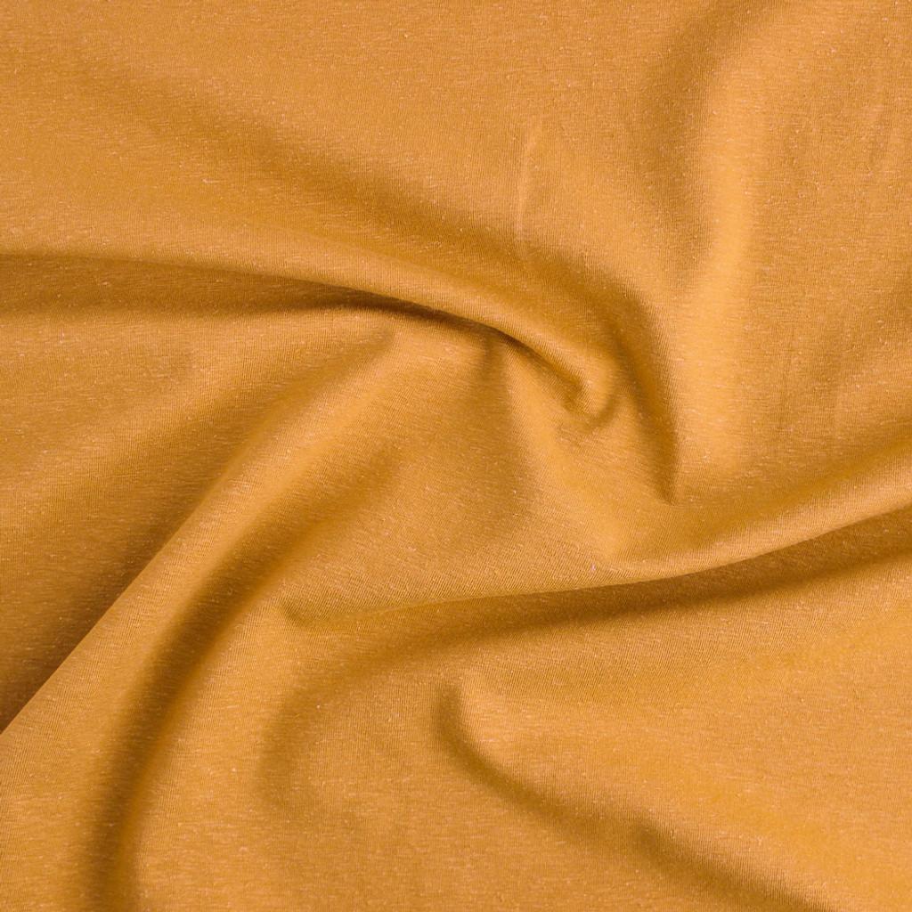 9891cdce153 Hemp & Organic Cotton Jersey - Turmeric | Blackbird Fabrics