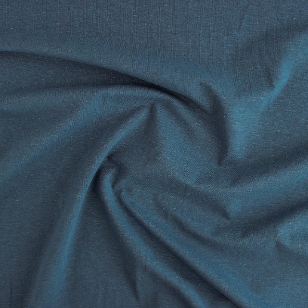 cde462850ba Hemp & Organic Cotton Jersey - Denim | Blackbird Fabrics