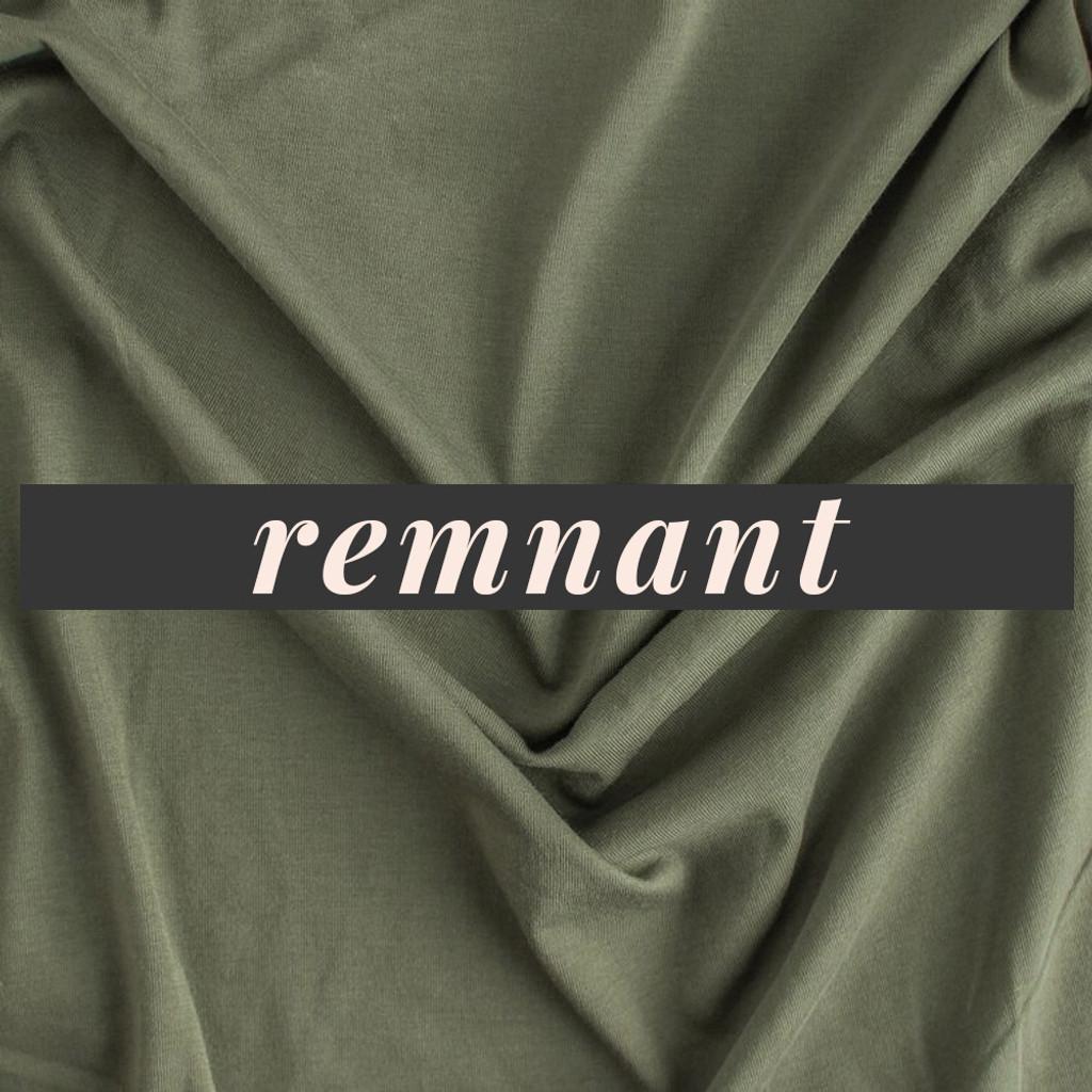 cdb59564b3c Remnant - 1 meter - 100% Organic Cotton Jersey Knit - Sage