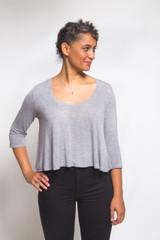 Ebony Knit Dress & T-Shirt by Closet Case Patterns | Blackbird Fabrics