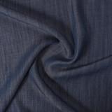 Slubby Tencel Denim - Dark Blue Wash   Blackbird Fabrics