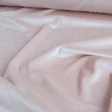Stretch Velvet II - Blush Pink | Blackbird Fabrics
