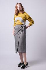 Tierra Wrap Skirt by Named Clothing | Blackbird Fabrics