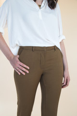 Sasha Trousers by Closet Case Patterns | Blackbird Fabrics