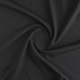 Heavyweight Compression Athletic Knit - Black - 1/2 meter