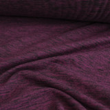 Space Dyed Athletic Knit - Maroon | Blackbird Fabrics