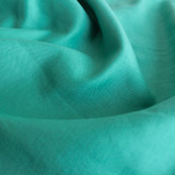 Mid Weight Linen Viscose - Jade Green - 1/2 meter