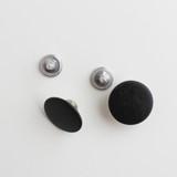 Jeans Buttons - Matte Black - Set of 2 | Blackbird Fabrics