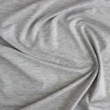 Tencel & Organic Cotton Jersey - Light Heather Grey | Blackbird Fabrics