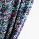 Marbled Nylon Swim Tricot - Blue/Pink | Blackbird Fabrics