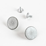 Jeans Buttons (17mm) - Silver - Set of 2