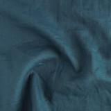 7oz Linen - Navy Teal   Blackbird Fabrics