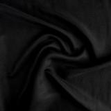 Cupro Linen & Tencel Slub - Black| Blackbird Fabrics