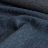 Lightweight Hemp & Organic Cotton Denim - Indigo Blue | Blackbird Fabrics