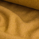 Boiled Wool & Viscose - Mustard | Blackbird Fabrics