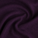 Boiled Wool & Viscose - Aubergine | Blackbird Fabrics